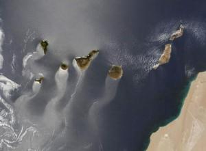 Tips Canarische eilanden satelliet foto jaar 2013
