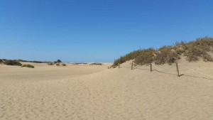Duinen in Playa del Ingles