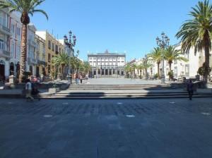 Tour Plaza de Santa Ana Las Palmas