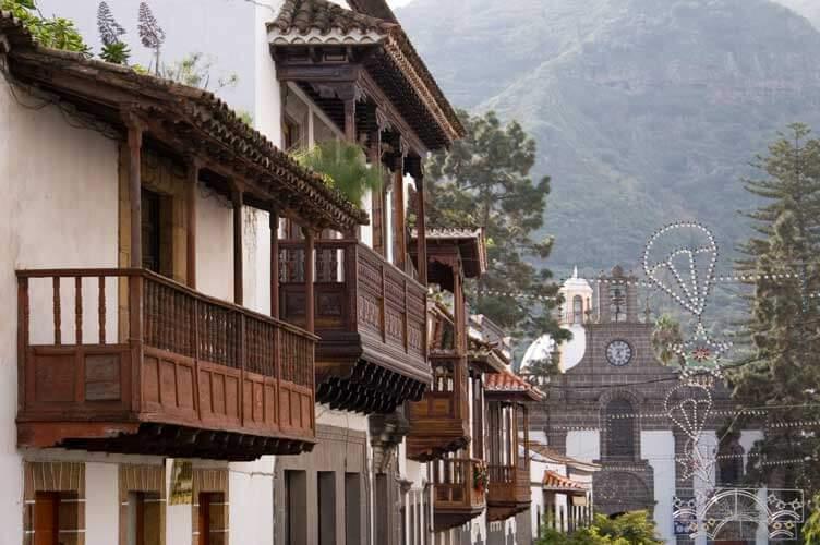 Teror is een historische stadje op Gran Canaria
