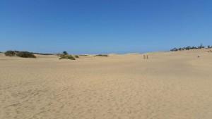 Duinen op Gran Canaria