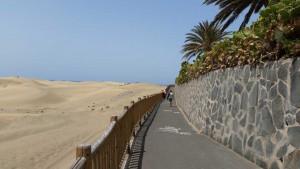 Duinen van Playa del Ingles nabij El Mirador