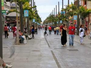 Verkeersvrije Avenida de Canarias in Vecindario