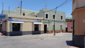 Vecindario en enkele authentieke huizen