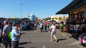Openbare markt op woensdag in Vecindario