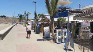 Strand promenade van Meloneras op Gran Canaria