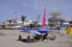 Strand en bars van Meloneras op Gran Canaria