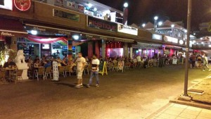 Bars en restaurants in Yumbo in Playa del Ingles
