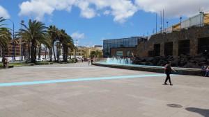 Las Arenas winkelcentrum in Las Palmas op Gran Canaria