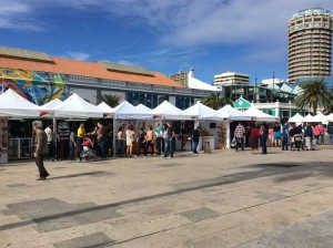 Ambachtenmarkt in Santa Catalina in Las Palmas