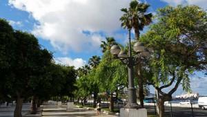 Santa Catalina in de hoofdstad Las Palmas