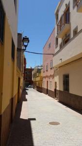 Traditionele huizen in El Tablero