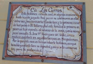 Oude woning in El Tablero