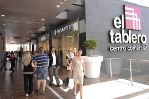 Winkelcentrum in El Tablero op Gran Canaria