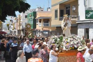 El Tablero en de heilige processie