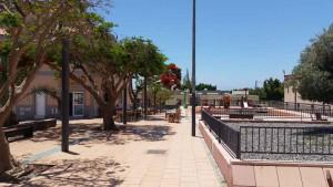 Centrum van El Tablero op Gran Canaria