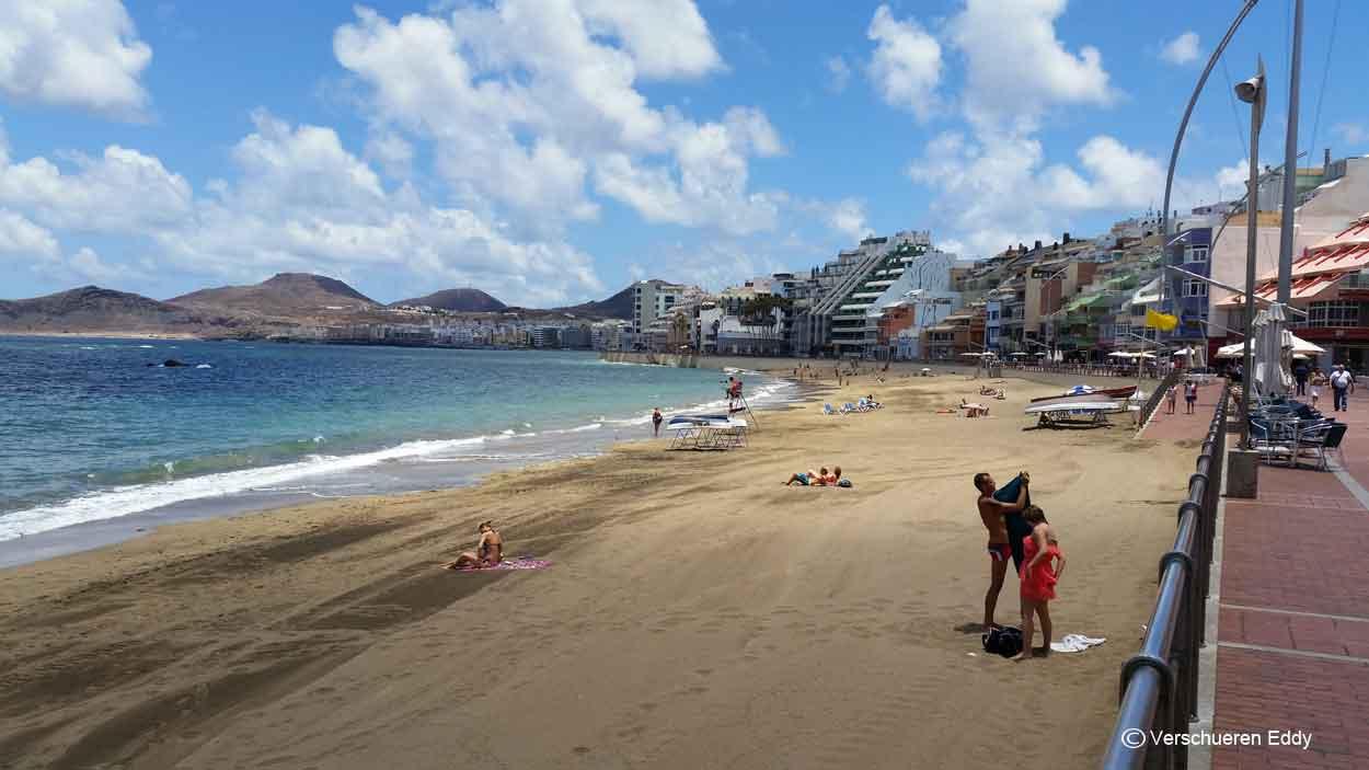 Strand von der hauptstadt las palmas gran canaria - El baul gran canaria ...