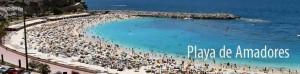 Playa de Amadores op Gran Canaria