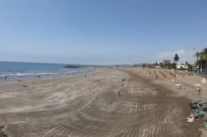 Strand van San Agustin op Gran Canaria