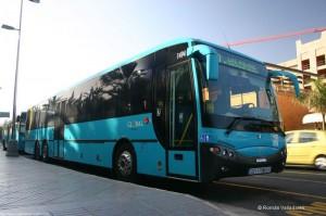 Transporte público - Global - Gran Canaria