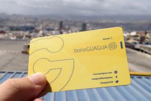 Transporte Público - Bono Guagua sin Contacto - Las Palmas de Gran Canaria