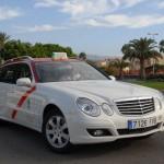 Openbaar vervoer Taxi van Maspalomas op Gran Canaria Zuiden