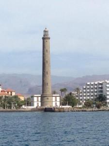 Vuurtoren Maspalomas op Gran Canaria