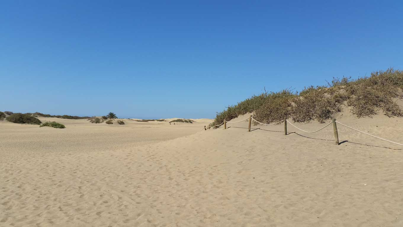 Dunes of maspalomas on gran canaria protected and incredibly beautiful gran canaria - Eternity gran canaria ...