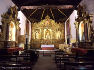 Vegueta Ermita de San Antonio Abad Altaar