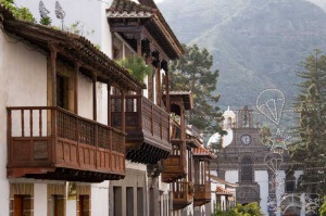 Teror on Gran Canaria and the balconies
