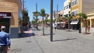 Vecindario en de Avenida de Canarias