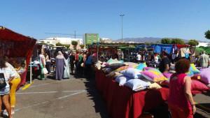 Markt op woensdag in Vecindario op Gran Canaria