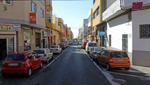 Vecindario en de winkelstraten