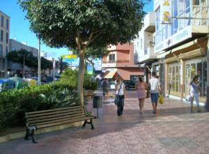 Vecindario en shopping op de Avenida de Canarias