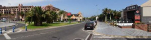 Shopping center Oasis Beach and Hotel Lopesan Baobab in Meloneras