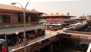 Yumbo shopping center in Playa del Ingles