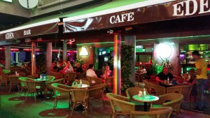 Bars en cafe's Yumbo winkelcentrum Playa del Ingles