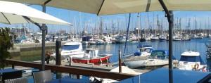 Jachthaven in Puerto de La Luz in Las Palmas