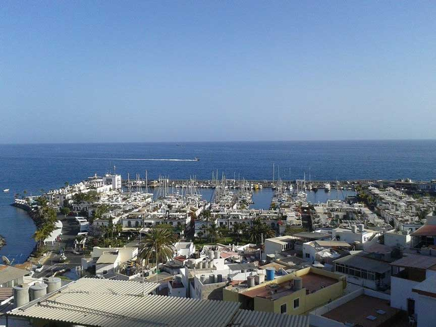 Puerto de Mogan at Gran Canaria