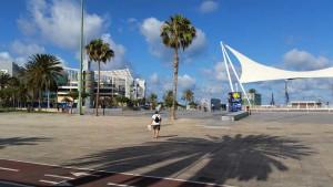 Puerto de La Luz en winkelcentrum El Muelle in Las Palmas