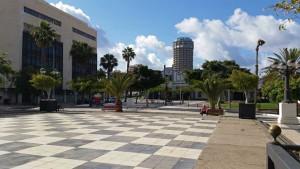 Santa Catalina park in de hoofdstad Las Palmas