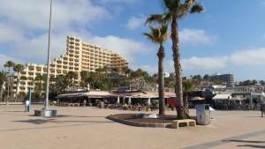 Playa del Ingles strandboulevard