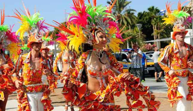 Carnival in Las Palmas on Gran Canaria