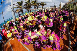 Carnaval in Las Palmas op Gran Canaria