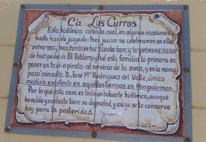 Altes Haus in El Tablero