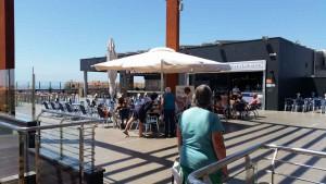 Shoppingcenter El Tablero met café's