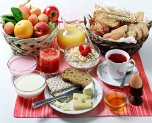 Küche von Gran Canaria mit frühstuck