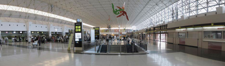 Luchthaven hall Las Palmas