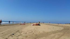 Naaktstrand van Playa del Ingles