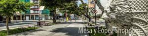 Mesa y Lopez winkelstraat Las Palmas